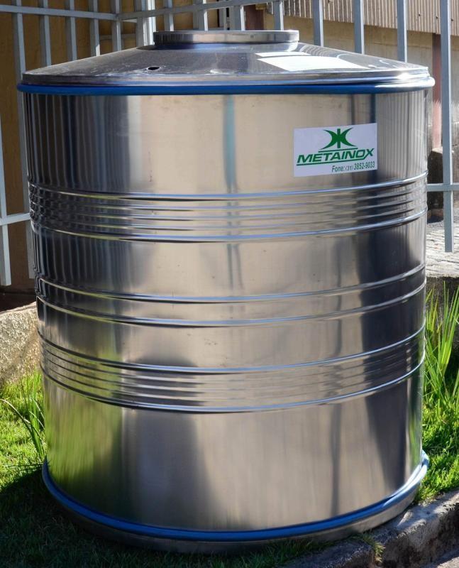 Caixa d água inox preço