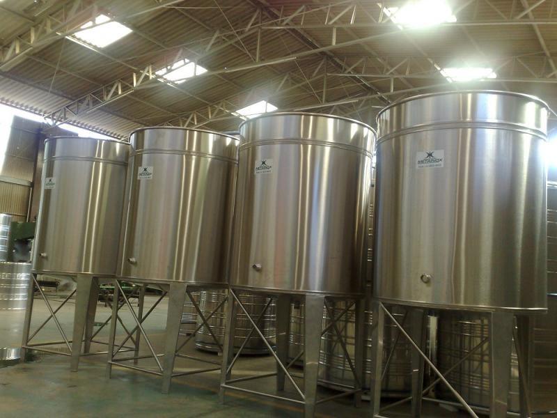 Dorna para fermentação de garapa