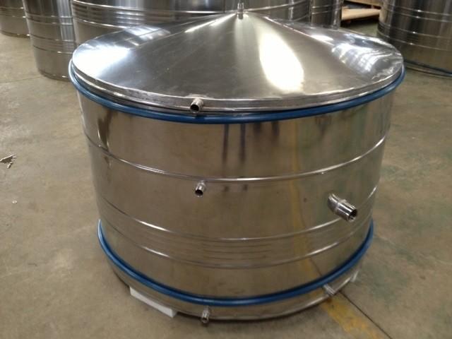 Fabricante de reservatório em aço inox