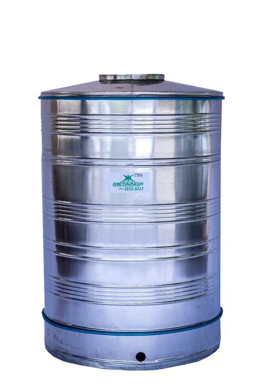 Reservatorios de agua em aço inox